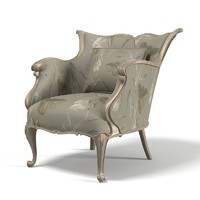 Jumbo Regency Reg-91 Classic Bedroom Arm Chair