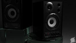 behringer ms20 studio monitor 3d model
