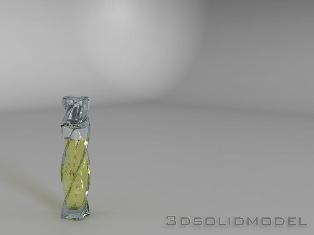 3d model of bottle