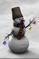 snowman snow 3ds