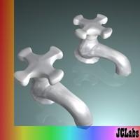 faucet outdoor valve 3d 3ds