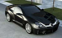 tuning carlsson mercedes sl 3d 3ds