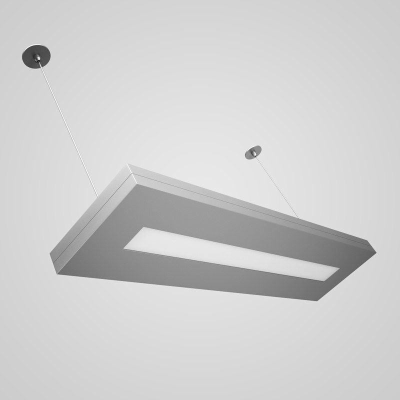 ceiling office lamp 37 3d max