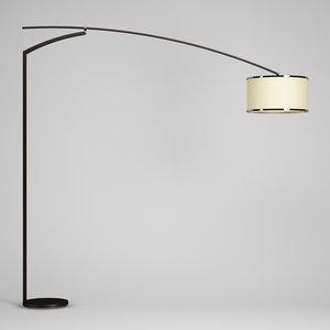 wooden floor lamp 44 3d max