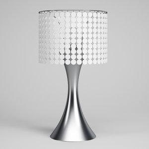 decorative desk lamp 49 c4d