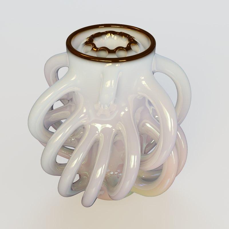 3d handly vase model