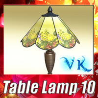 Modern Table Lamp 10 - Victorian Lamp