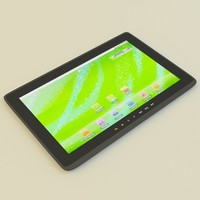 3d model tablet pc ziio