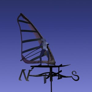 3d max weather vane