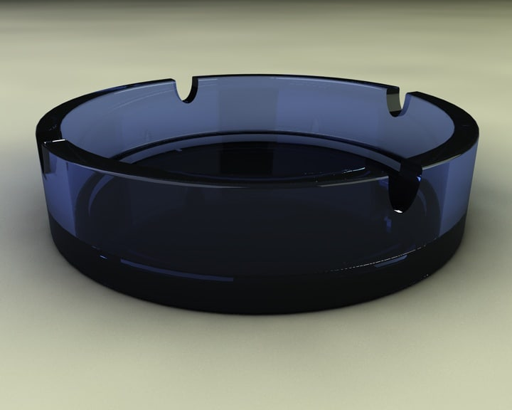 free ashtray ash tray 3d model