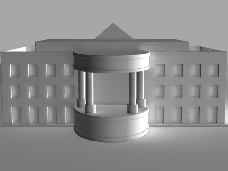 white house 3d 3ds