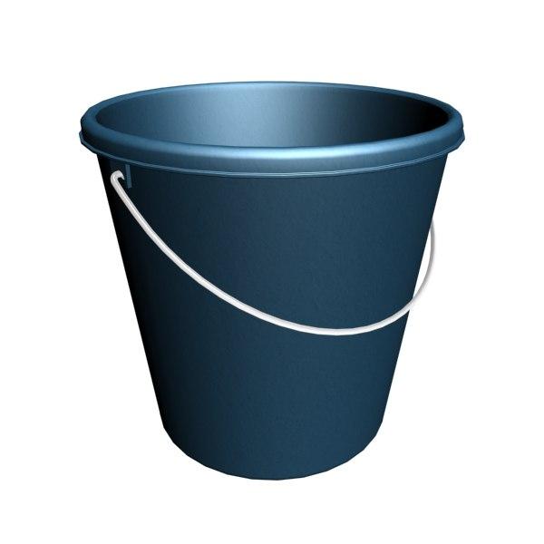 bucket plastic max