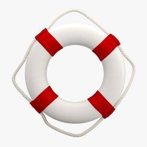 3d decorative ring buoy
