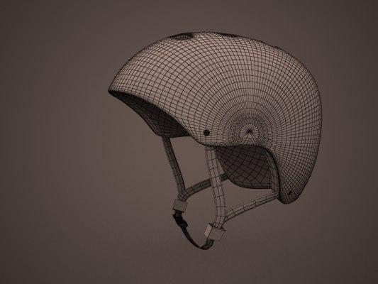 3d - skate helmet