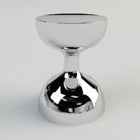 3d infinity stool model