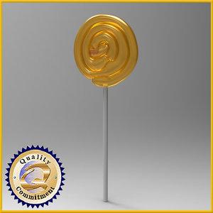 3d lollipops