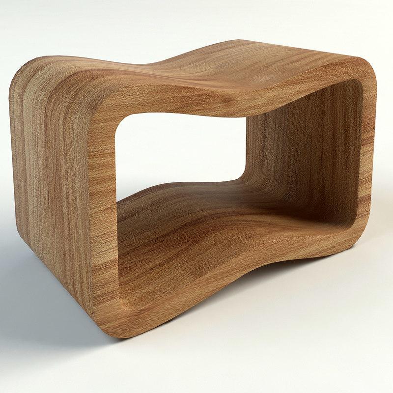 3ds max bochetta bench