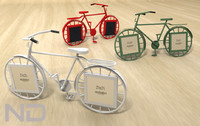 3d model picture frame bicycle