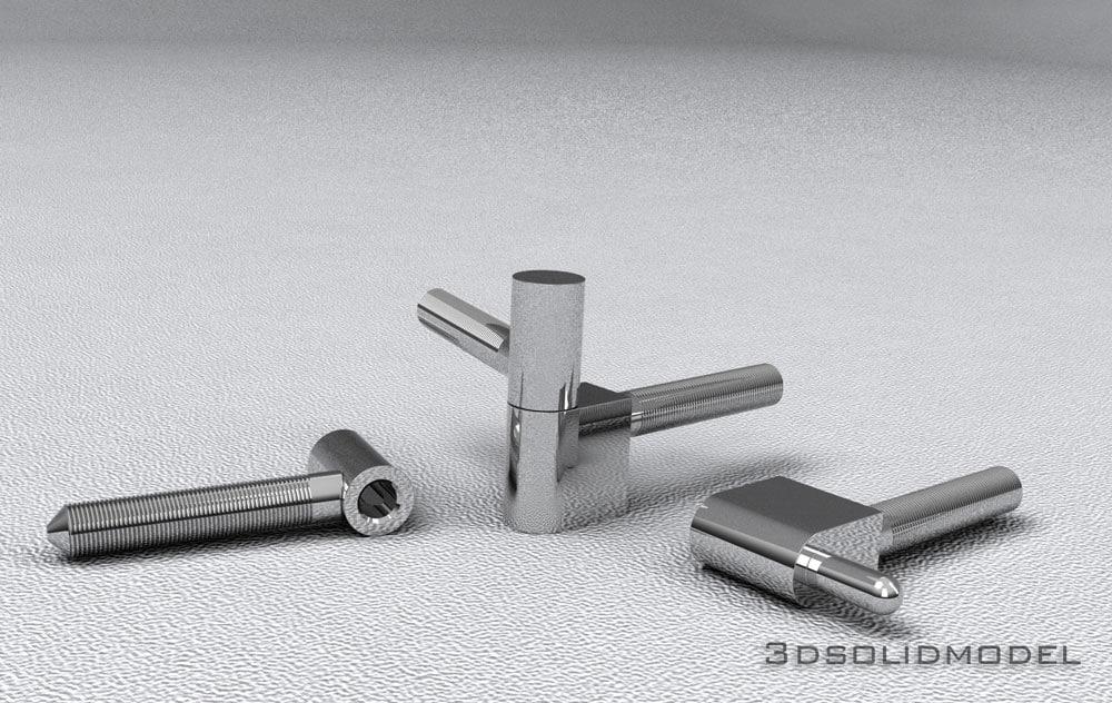 hinge 3d model