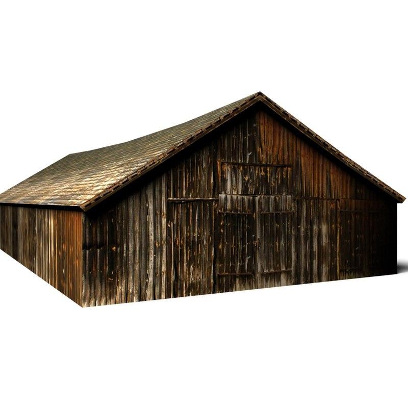 3d village shed