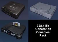 3ds max sega 64 consoles