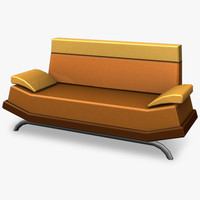 maya couch retro