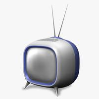 Television retro design 3DGM