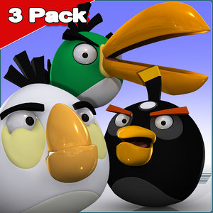 3ds max angry bird 3