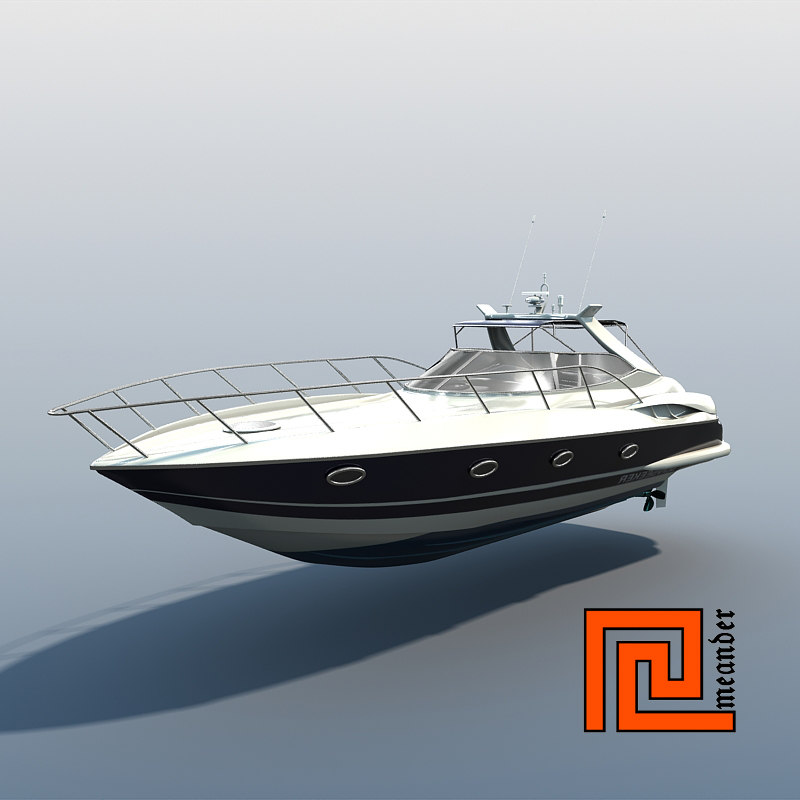 yacht sunseeker camargue 44 c4d