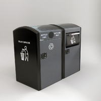 solar trash compactor recycling ma