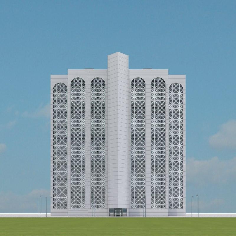 new skyscraper 49 3d max