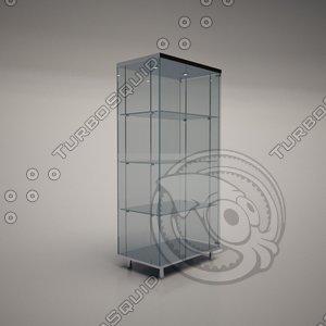 3d cattelan italia charme glass model