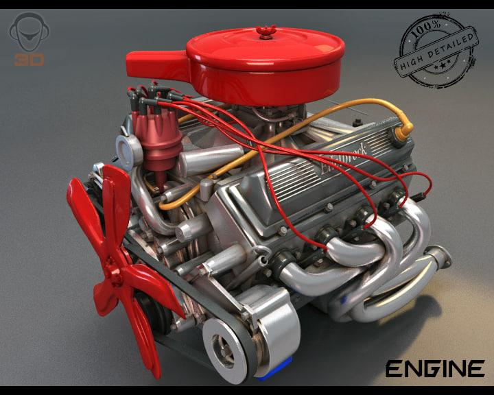 3ds turbo v8 engine