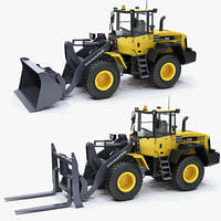Wheel loader Komatsu WA250 2012 construction equipment engineering transport