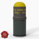 M397 Grenade 3D models