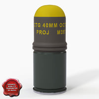 3ds m397 grenade