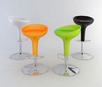 magis bombo bar stool 3d 3ds