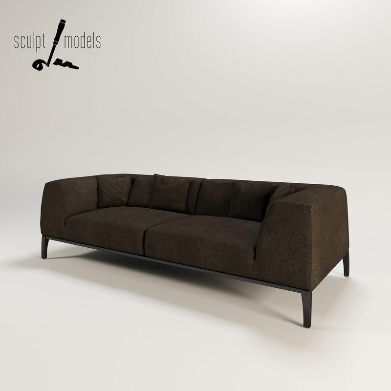 metropolitan sofa 3d max