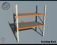 3d scaffold model