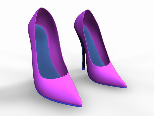 shoe ladies obj