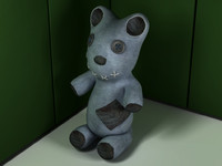 teddy bear ragdoll 3d model