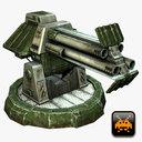 Mini Defense Turret