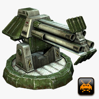 Mini Defense Turret