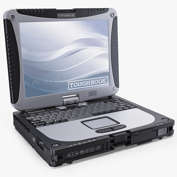 3d panasonic toughbook cf-19 model