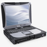 panasonic toughbook cf-19 3d obj