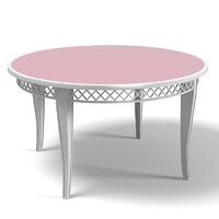 versace dining table 3d max