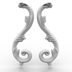 arch elements 14 wall 3d model