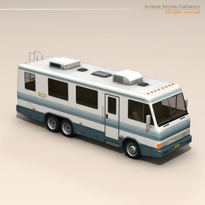 3d model recreational vehicle