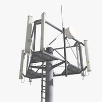3d cell tower antenna