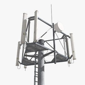 3d cell tower antenna